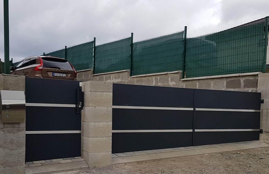 hliníkove ploty